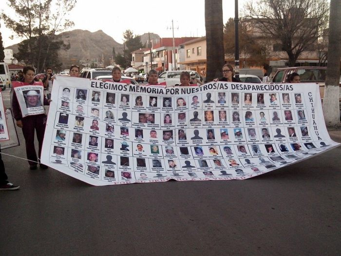 Valentine's Day for the Families of the Disappeared